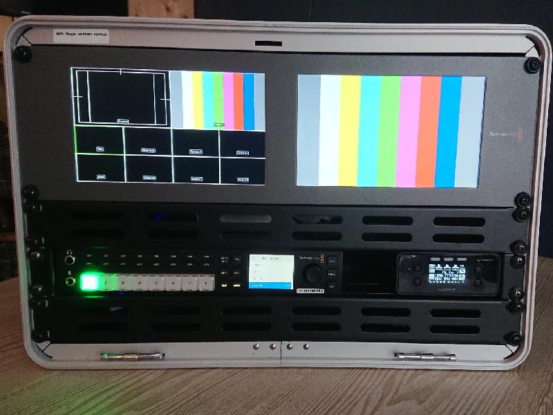 8 kanaals video switcher Blackmagic design